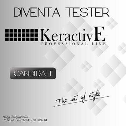 diventa tester prodotti KeractivE