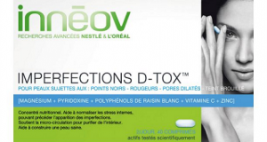 diventa tester integratore Innéov Imperfections D-Tox