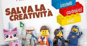 vinci Lego con Salva la creatività