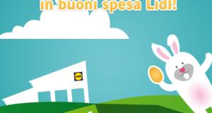 vinci buoni spesa Lidl con Rally di Pasqua
