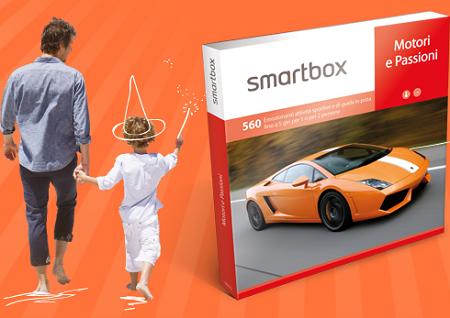 vinci cofanetti Smartbox per la Festa del Papà