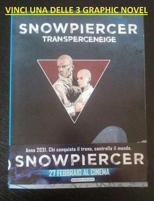 vinci graphic novel di Snowpiercer