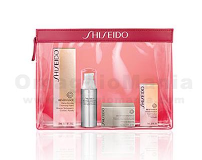 vinci kit cosmetici Shiseido con Real Time