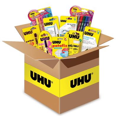 vinci kit prodotti UHU