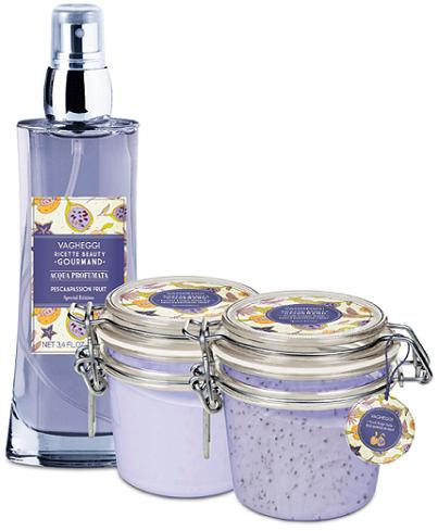 vinci kit prodotti Vagheggi Ricette Beauty Gourmand