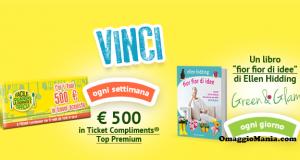 vinci libri e buoni Ticket Compliments con Leerdammer