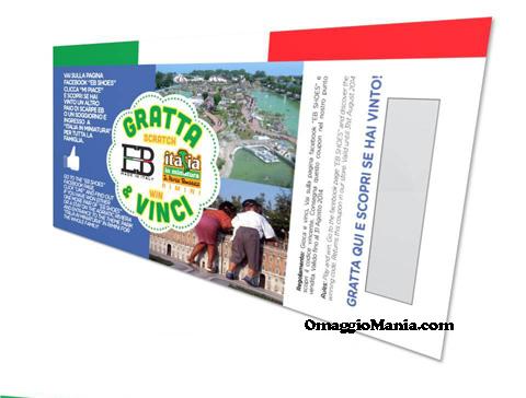 vinci scarpine o abbonamento a Italia in Miniatura