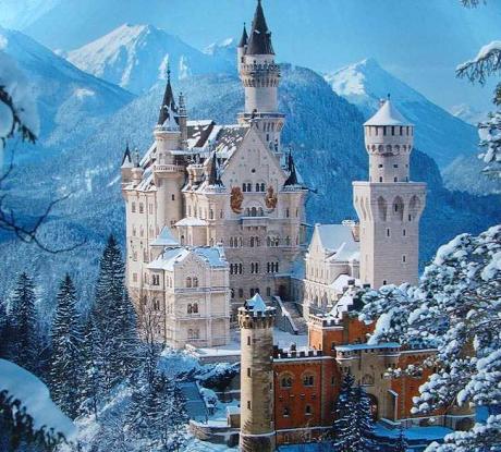 vinci tour dei castelli della Baviera