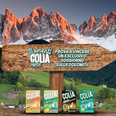vinci vacanza sulle Dolomiti con Golia Herbs