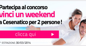 vinci weekend a Cesenatico