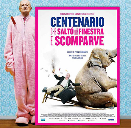 Biglietto cinema omaggio il centenario che salt dalla finestra e scomparve omaggiomania - Film il centenario che salto dalla finestra e scomparve ...