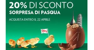 buono sconto Alitalia per Pasqua