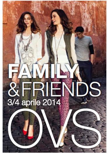 buono sconto OVS Family Friends