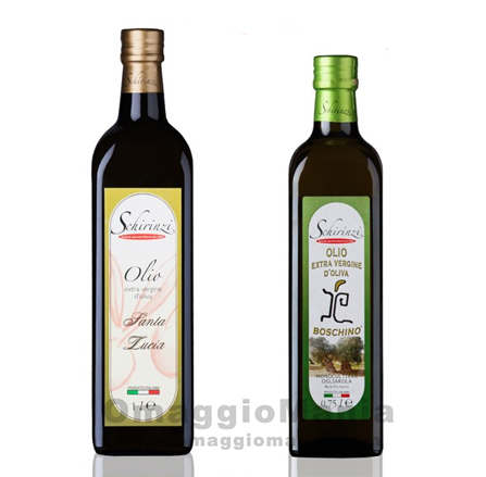 campione omaggio olio extravergine di oliva Schirinzi