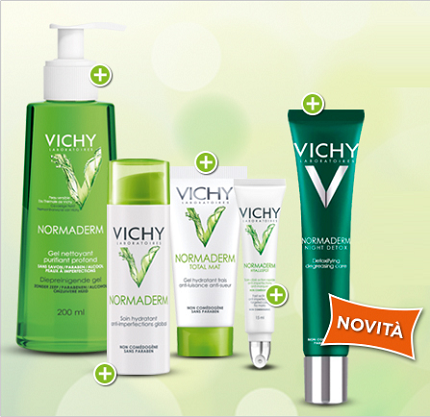 campioni omaggio cosmetici Vichy Normaderm