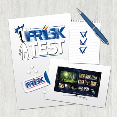 concorso a premi The Frisk Test
