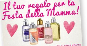gel doccia omaggio Festa della Mamma