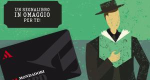 segnalibro omaggio da Mondadori