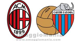 vinci biglietti per Milan-Catania