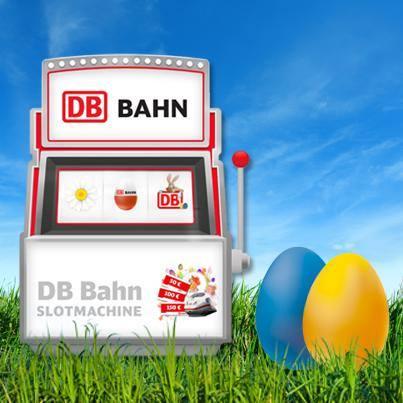 vinci buoni viaggio con la slot machine DB Bahn