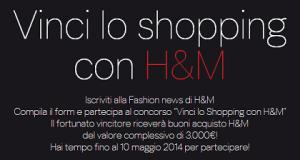 vinci lo shopping con H&M