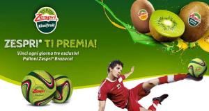 vinci ogni giorno palloni Zespri Brazuca
