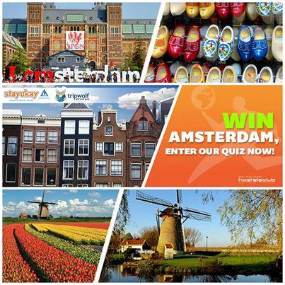 Vinci 2 notti gratis ad Amsterdam con Hostelsclub - OmaggioMania