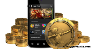 500 Amazon Coins gratis con App-Shop Amazon