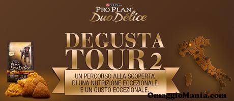 Degusta Tour 2: ciotola omaggio e buono sconto