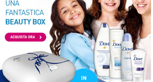 Dove Beauty box in omaggio