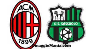 vinci biglietti Milan Sassuolo