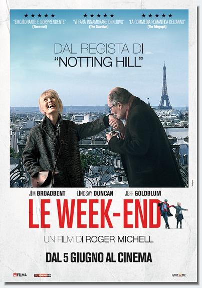 biglietti cinema omaggio Le Week-End