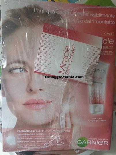 campione omaggio Miracle Skin Cream con la rivista Chi
