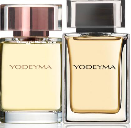 campioni omaggio profumi Yodeyma