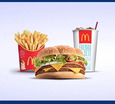 coupon menu gratis McDonald's 2x1