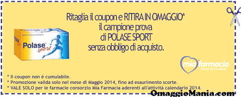 coupon MiaFarmacia Polase Sport