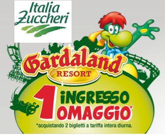 Biglietto Gardaland gratis con ItaliaZuccheri