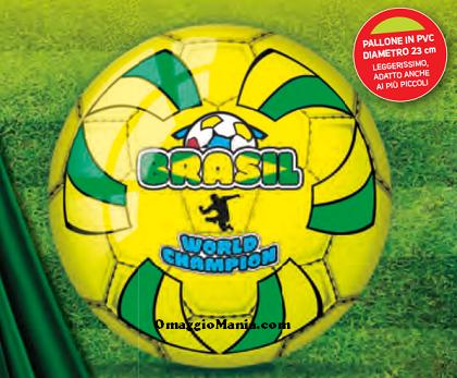 pallone omaggio da Conad