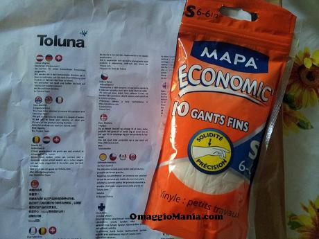 ricevuti guanti Mapa da testare con Toluna