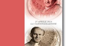 santino omaggio Due papi, due santi