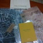 sciarpa Falconeri ritirata gratis da Claudia