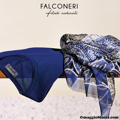 sciarpa omaggio da Falconeri