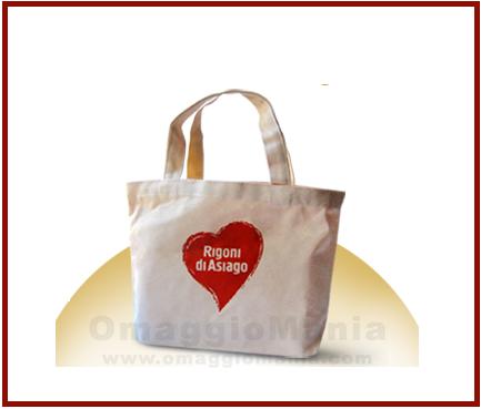 shopper omaggio da Rigoni di Asiago