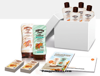 testa gratis Hawaiian Tropic Silk Hydration