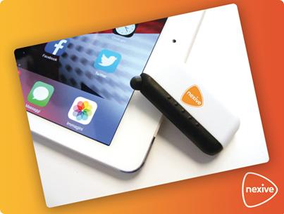 touch screen cleaner gratis da Nexive