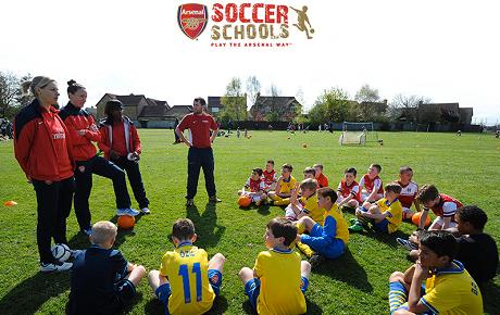 vinci Arsenal UK Summer Camp con Indesit