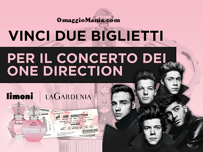 vinci biglietti per il concerto dei One Direction