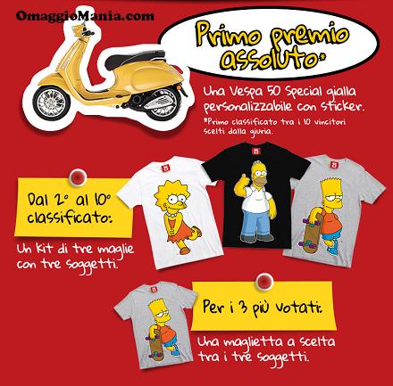 vinci con il concorso Buon Compleanno Simpsons