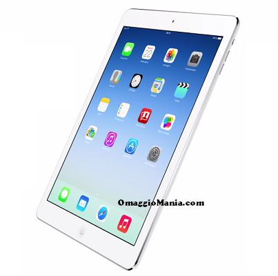 vinci iPad Air con Nastro Azzurro