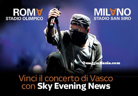 vinci il concerto di Vasco Rossi con Sky